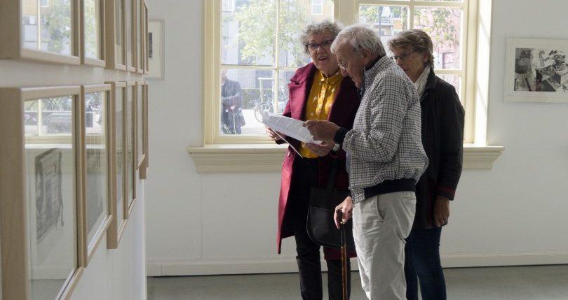 H47 white cube LF2018 , kunstruimte H47 in Leeuwarden voor exposities en tentoonstellingen van beeldende kunst.